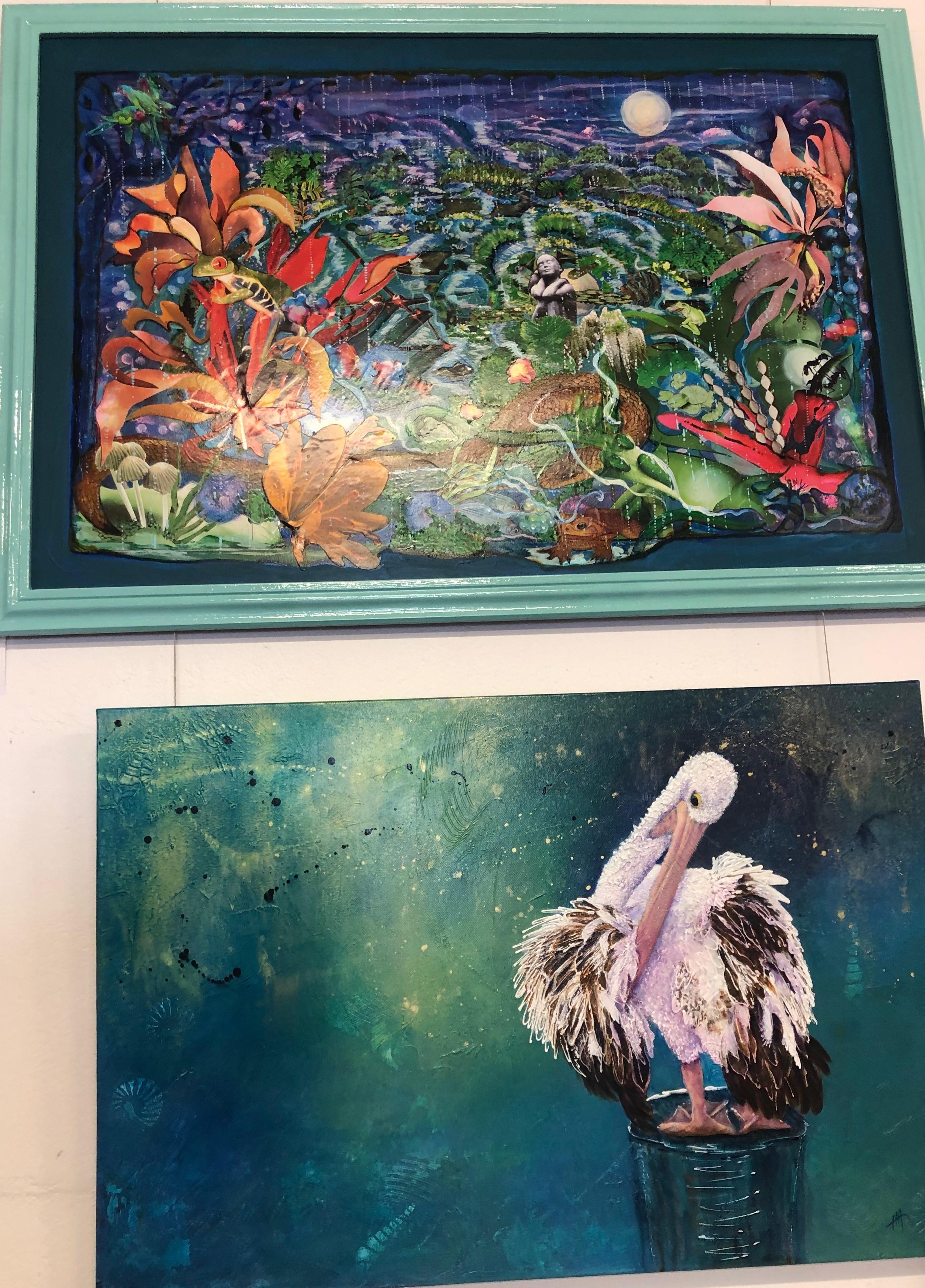 dual paintings