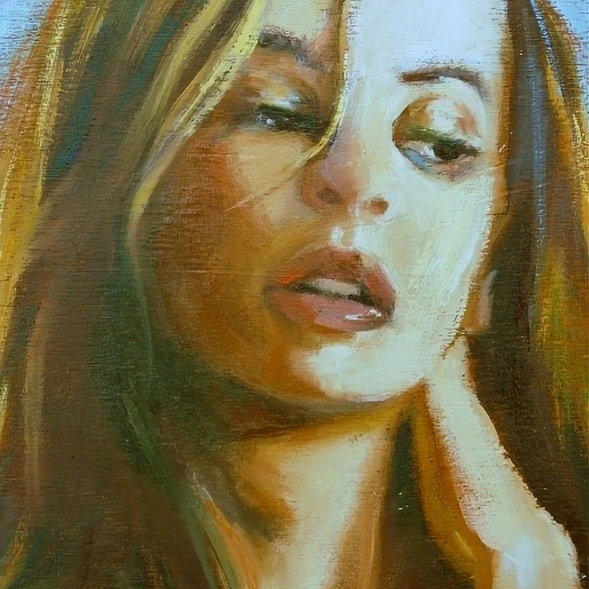 Pauline Adair - Learn to paint Portraits in oil in 3 hours - March