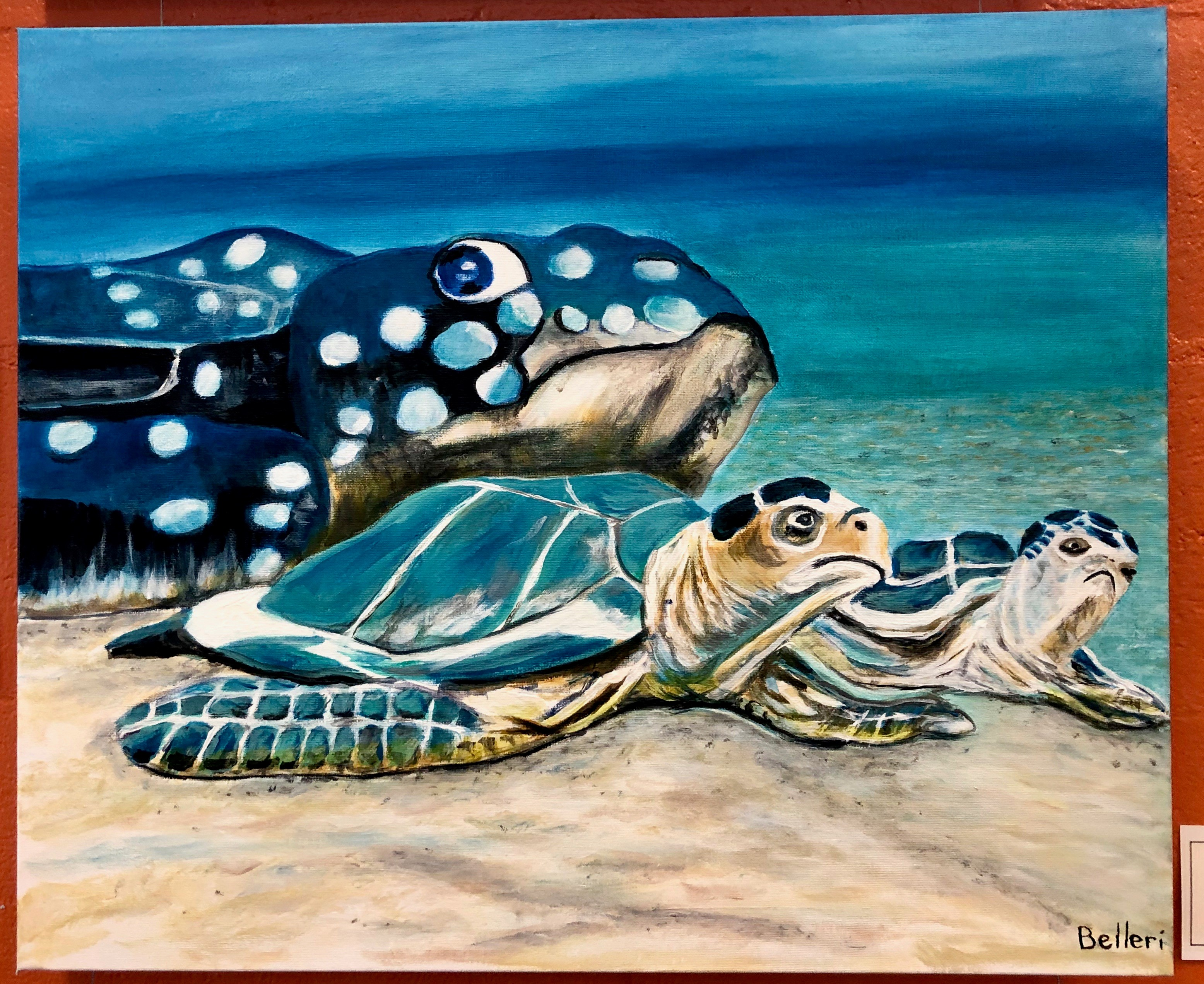 turtles painting