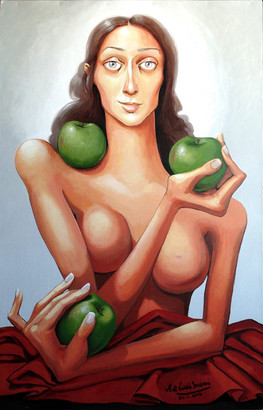 La Epifanía de las tres Manzanas