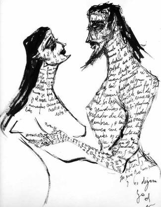 Los amores por escritos