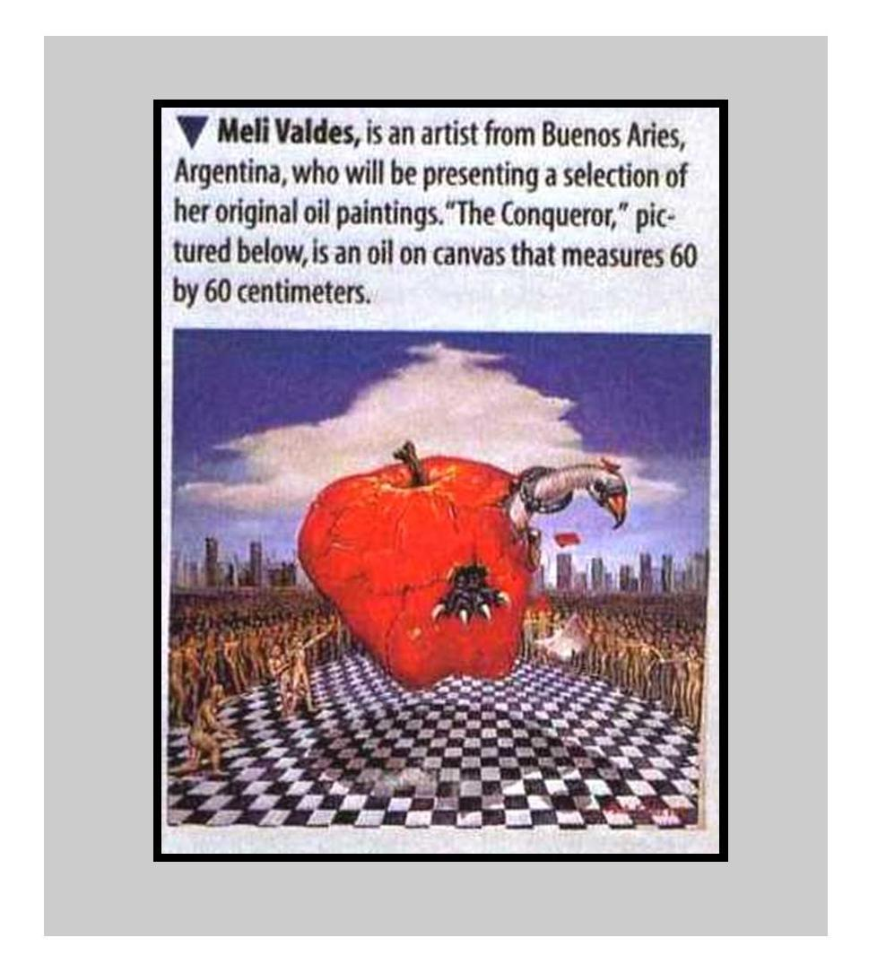 Revista Art Business News, feb.1998.