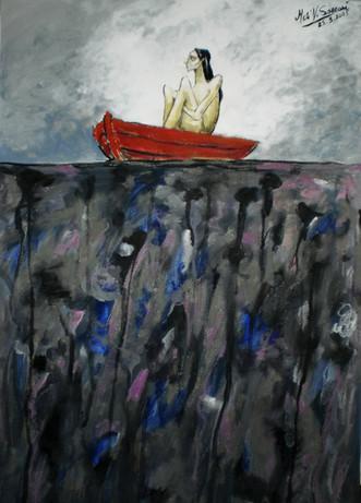 El cruce de las aguas negras