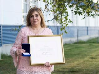 Hay River Principal awarded prestigious Polar Medal