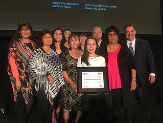 SSDEC Wins National Indigenous Education Award