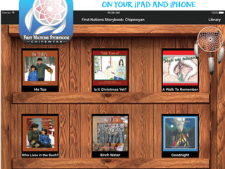 SSDEC's App; First Nations Storybook - Chıpewyan edition is now live