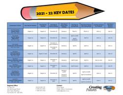 2021-22 Key Dates