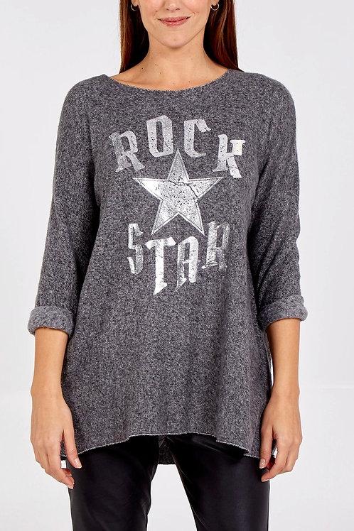 """Rock Star"" Long Sleeved Top"