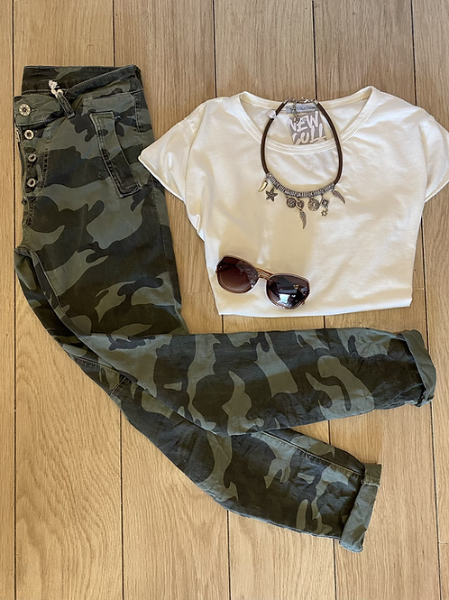 Camo Melly Jeans