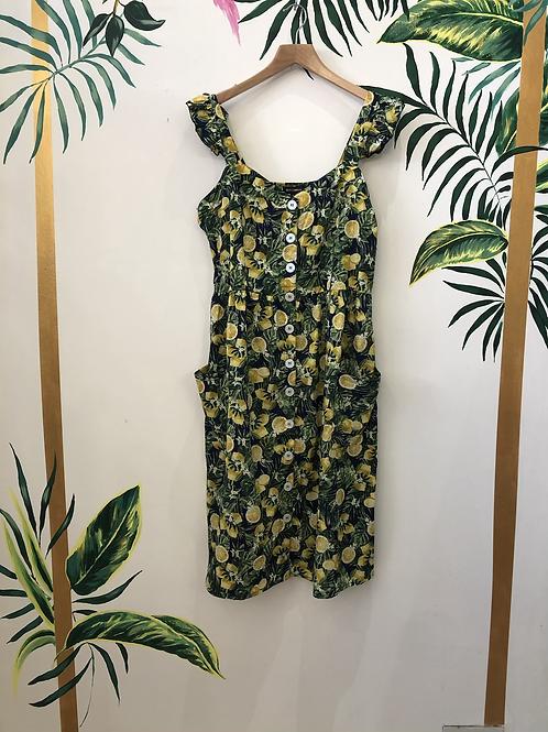 Lemon Print Dress 🍋