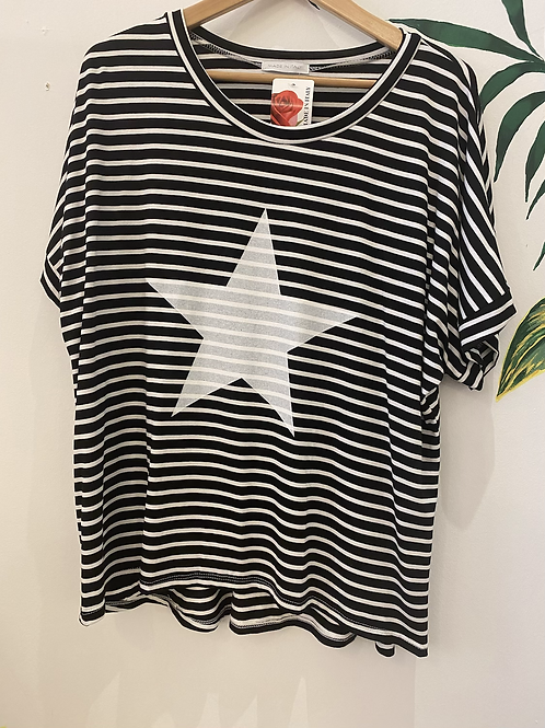 Stripe Star Tee
