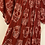 Thumbnail: Floral Skull Tiered Maxi Dress