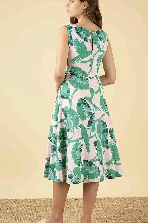 Emily and Fin Jasmine Botanical Parakeet Dress 🌿