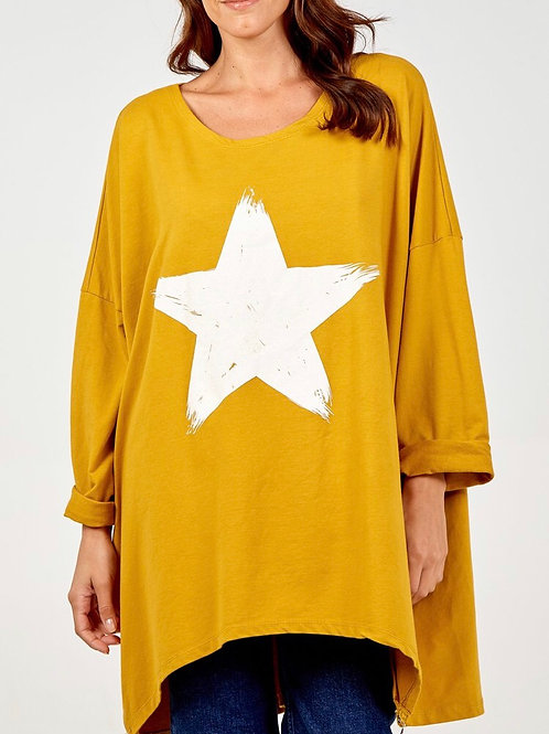 Oversize Star Sweatshirt