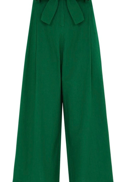 Emily and Fin Gilda Tropical Green Trouser