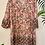 Thumbnail: V-Neck Printed Smock Dress