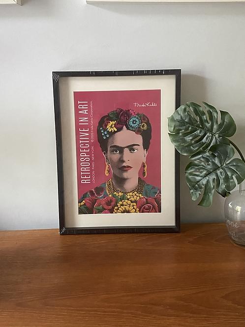 Frida Franed Print