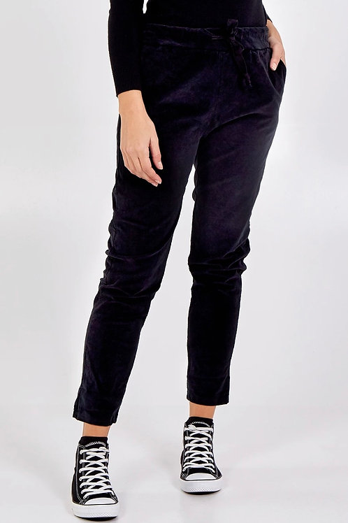 Stretch baby cord joggers