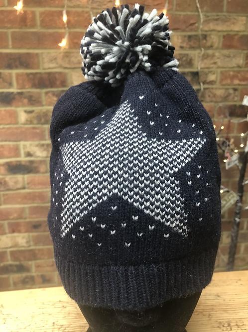 Cashmere Blend Star Hat