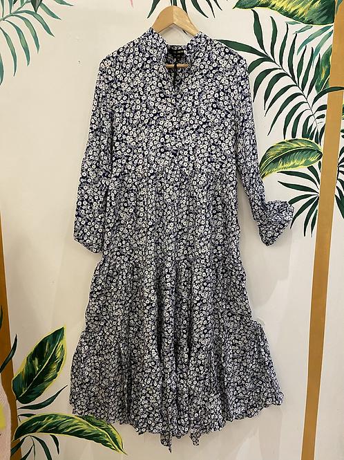 Daisy Print Maxi Dress