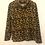 Thumbnail: Leopard Print Roll neck sweater