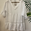 Thumbnail: V-Neck Tiered Frill Sleeved Cheesecloth Top
