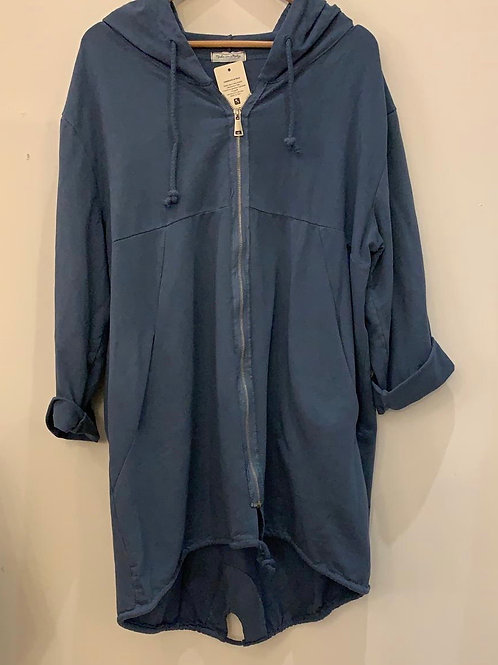 Plain Parka Style Jacket