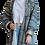 Thumbnail: Пальто-халат из винтажного шелка и хлопка