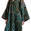 Thumbnail: Пальто-халат из ткани ручного плетения
