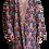 Thumbnail: Пальто-халат из вышитой вручную ткани