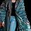 Thumbnail: Пальто-халат из винтажной полушелковой ткани