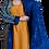 Thumbnail: Пальто двустороннее из хлопка и винтажного бархата