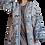 Thumbnail: Пальто-халат из шелка и хлопка