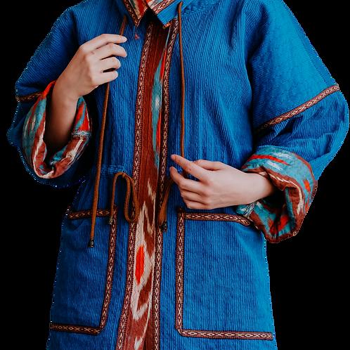 Куртка из винтажного вельвета и хлопка