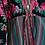 Thumbnail: Пальто-халат из полушелковой ткани и павлопосадского платка