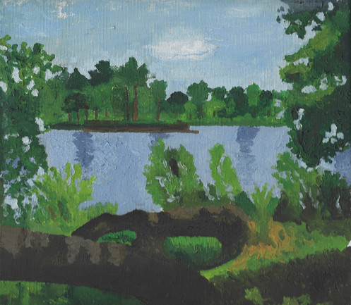 Untitled (Landscape) | Oil on Canvas | 25x25 cm | 2008