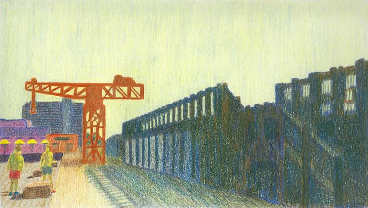 Untitled | Color Pencils on Paper | 16x29 cm | 2015