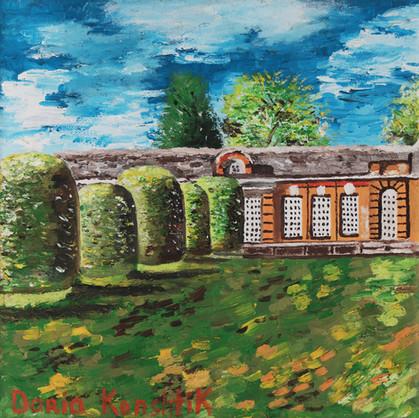 Untitled (Landscape) | Oil on Canvas | 30x30 cm | 2013