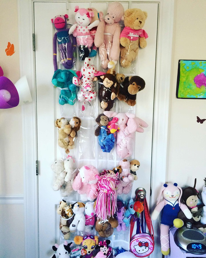 Stuffed animal organization & display