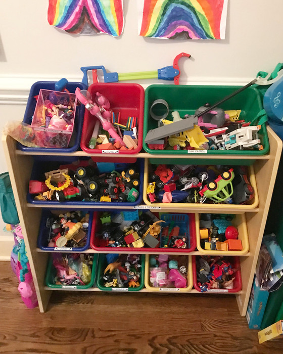 Quick & Easy Playroom Update