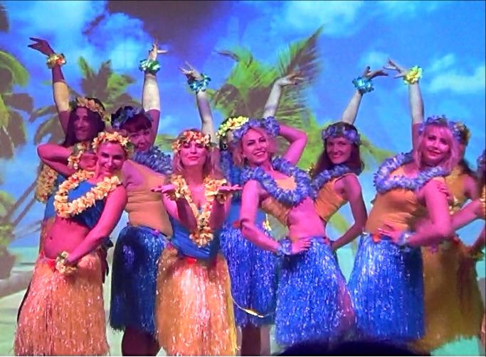 Горячие латинские танцы