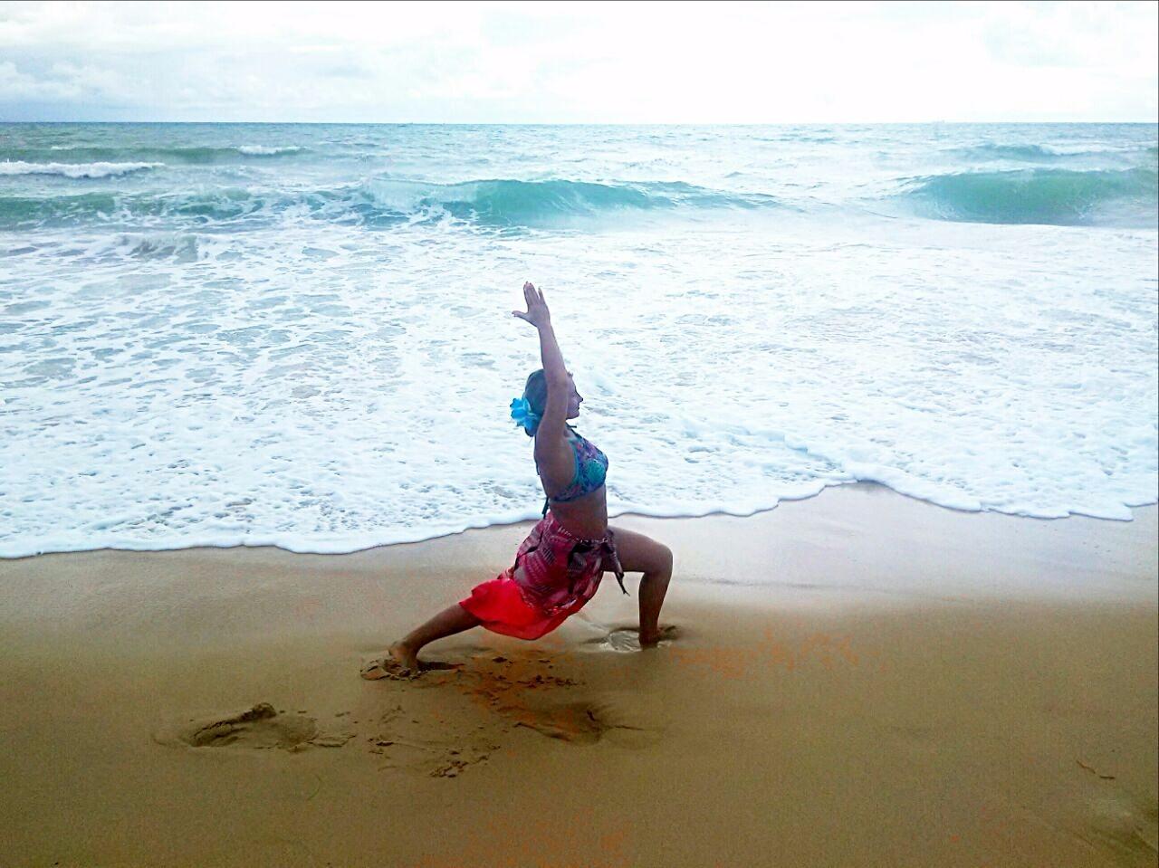 Yoga на море