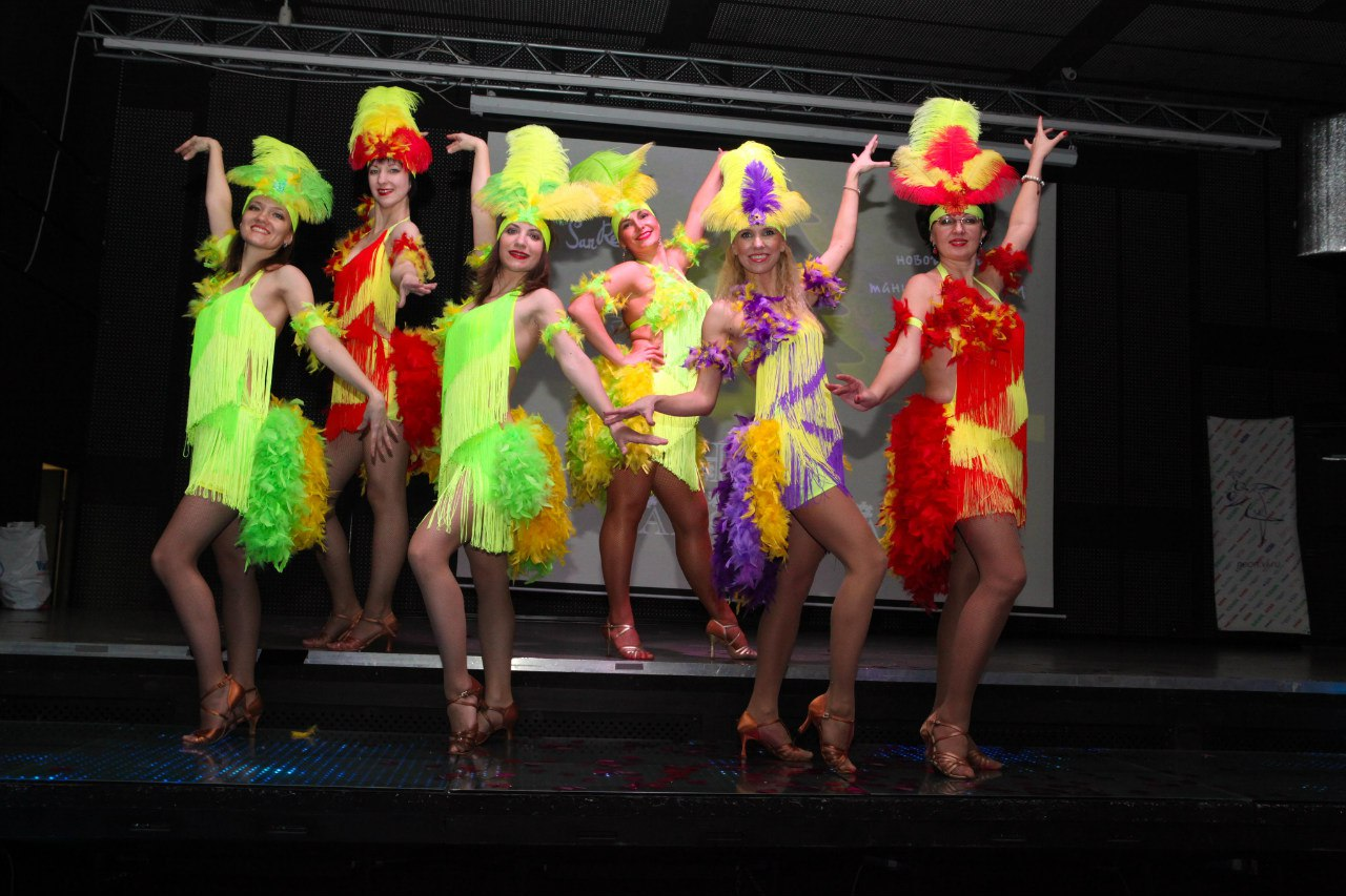 Наш танцевальный коллектив.