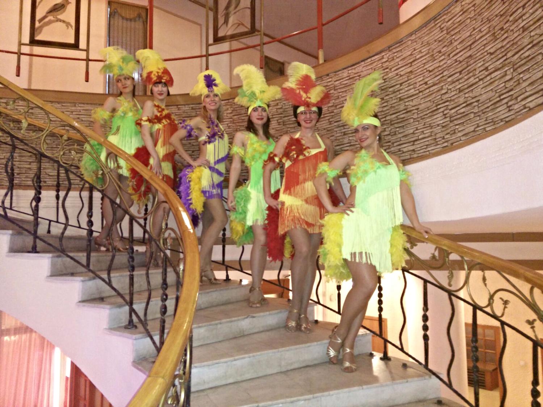 Карнавальная бразильская самба