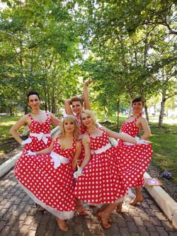 III место в танцевальном конкурсе.