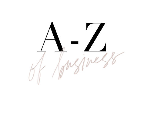 A - Z of Business