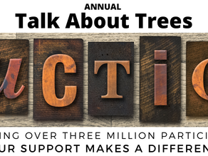30th Annual Talk About Trees Auction