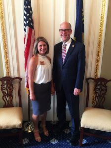 April with Greg Walden 2017