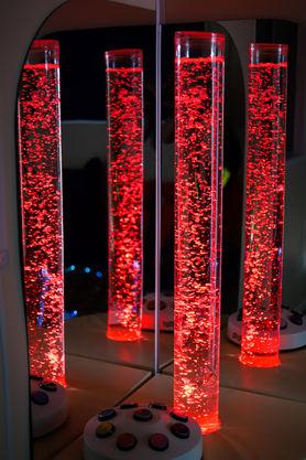 Water Tubes of Light