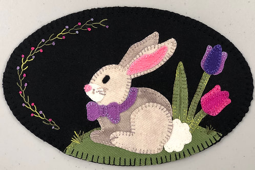 Wool Mug Mat - Bunny Kit